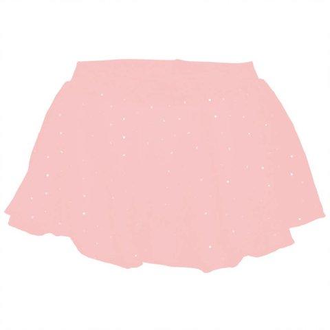 CR5161 Olesia Instapmodel balletrokje georgette Glitters Roze/Lightpink