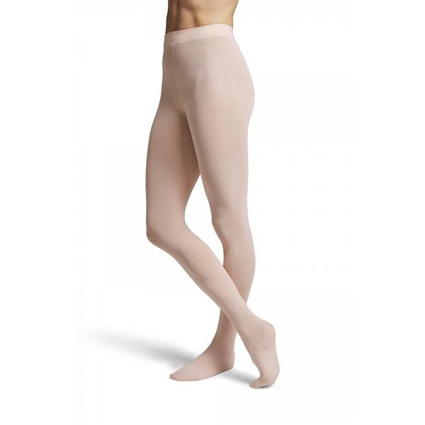 Bloch since 1932 T0981G Girl's Contoursoft Footed Tights