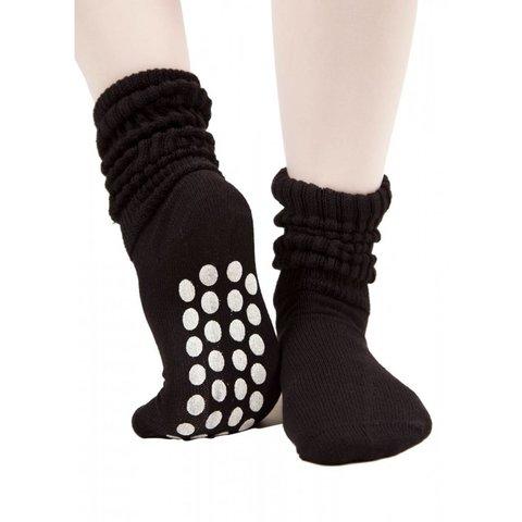 9791 Antislip Sokken Zwart/Wit