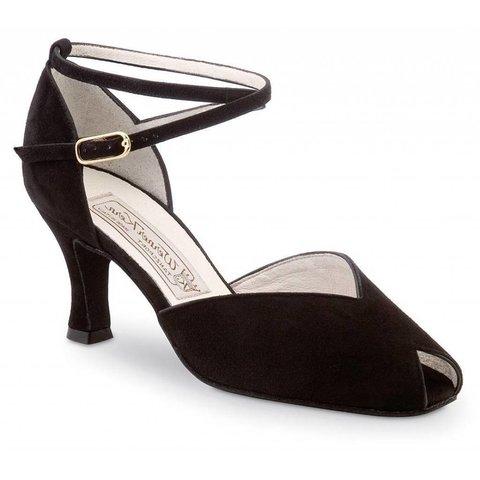 Dames Dansschoen Asta 6.5cm Zwart