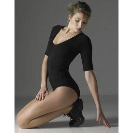 Temps Danse Maddy balletpak elleboog lengte viscose zwart