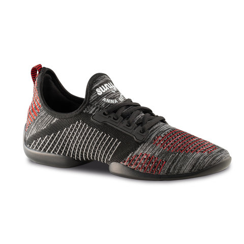4015-Pureflex Knit black/grey/red/white