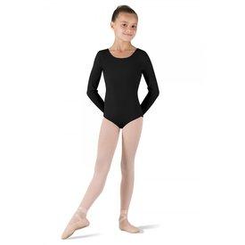 Bloch CL5409 Petit balletpakje met lange mouw zwart