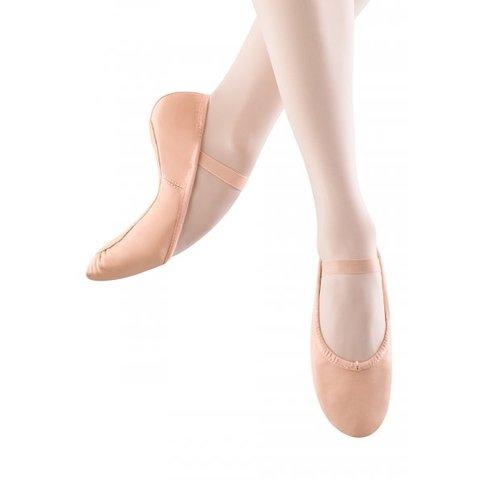 S0205L Dansoft Balletschoenen Doorlopende Suède Zool