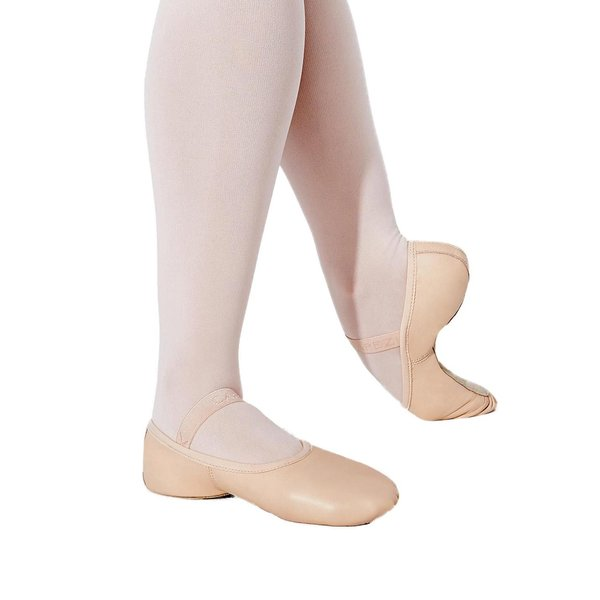 Capezio Lily 212C Balletschoenen Doorlopende Zool Roze