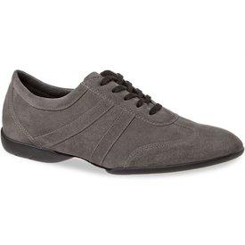 Diamant Dansschoenen 133-325-009 [Brede] Diamant - Heren Dance Sneakers Grey suede