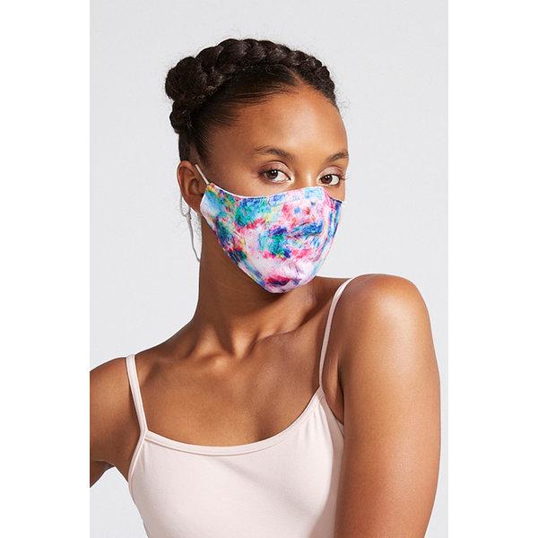 Bloch since 1932 BLOCH B-Safe Adult Print Lanyard Face Mask A005A Tie Dye