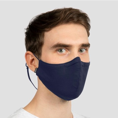 BLOCH B-Safe Adult Lanyard Face Mask A004A Black