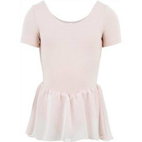 CL5342 Tiffany Balletpakje korte mouw en rokje