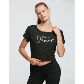 Temps Danse Agile I Am Dance Crop Top