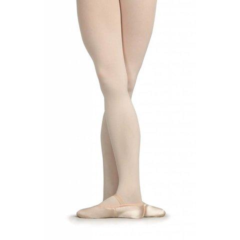U215 Satin Daisy Satijnen Balletschoenen Roze