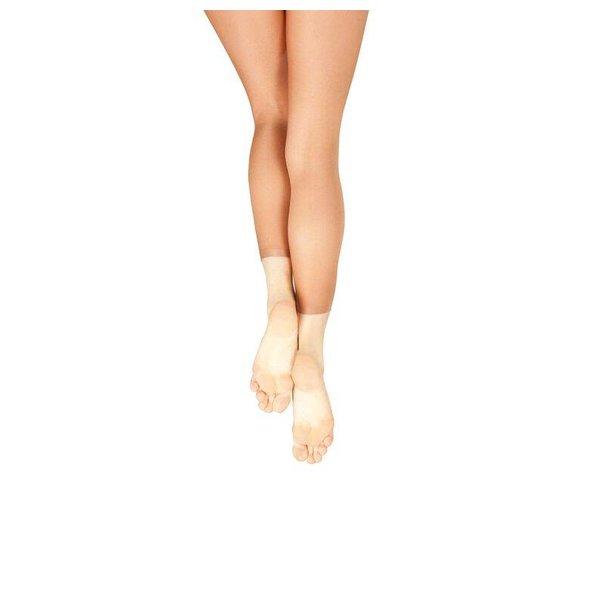 Capezio 1880 Ultra Shimmery Panty zonder voet Toast