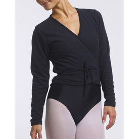 Temps Danse Darling Fleece Wrap Top