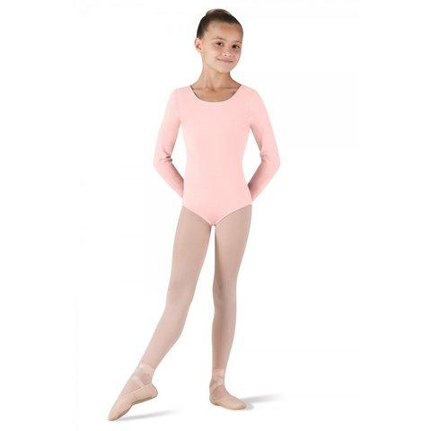 CL5409 Petit balletpakje met lange mouw roze / light pink