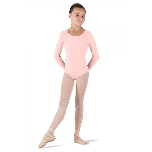 Bloch since 1932 CL5409 Petit balletpakje met lange mouw roze / light pink