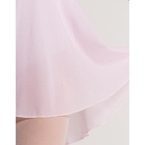 Juliette stretch voile rokje (01) Roze / Rose