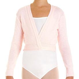 Intermezzo 6000 Ballet wikkelvestje van 100% acryl roze