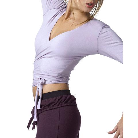 Vigueur Ballet Wikkelvest Kort Lavendel