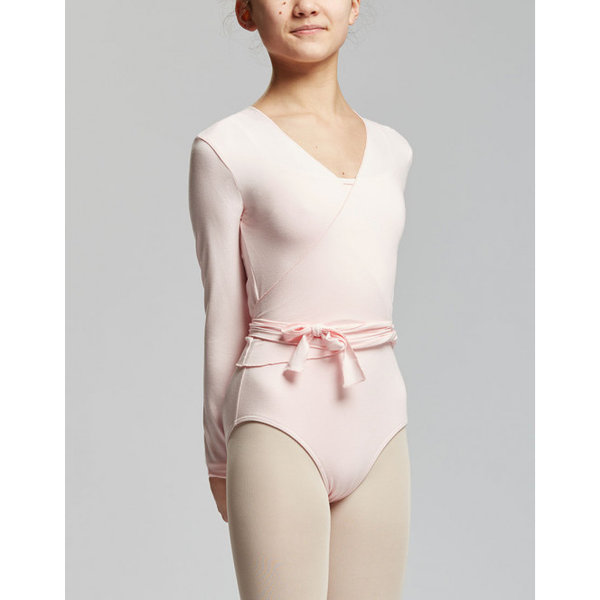 Temps Danse Vigueur Ballet Wikkelvest Kort Roze