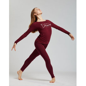 Temps Danse Vixum Legging viscose bordeaux