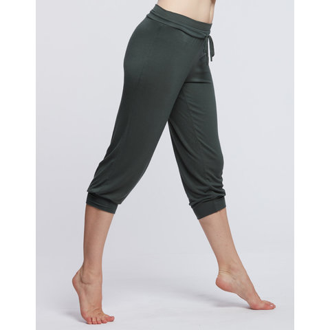 Bakara driekwart broek bamboe kaki