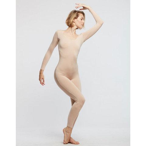 Verite Catsuit / Académique viscose nude / huidskleur