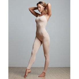 Temps Danse Vegan Catsuit / Académique viscose nude / huidskleur