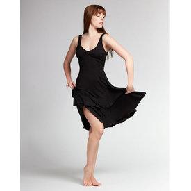 Temps Danse Veritable Dansjurk Zonder mouw Viscose Zwart