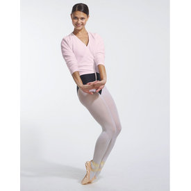 Temps Danse Darling Fleece Wikkel Vest Roze