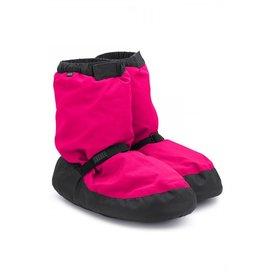 Bloch since 1932 IM009 Warm up Bootie Fluorescent Pink