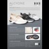Lage danssneaker -  knit -  Alcyone S0929L -  Beige/Rose/Gold