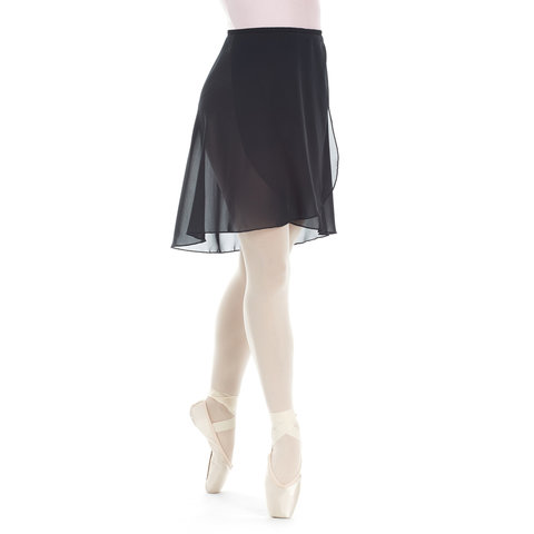 7684 wikkel rok lang zwart