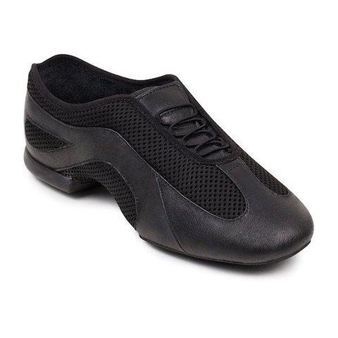 ES0485L Slipstream Jazzschoenen splitzool Zwart