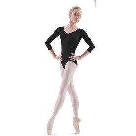 Bloch since 1932 L5436 Ballon Balletpak Driekwart Mouw Rimpeltje Lage rug