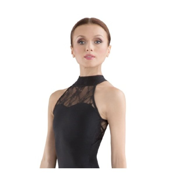 Bloch since 1932 L6040 Ebo Halternek Balletpak met kant