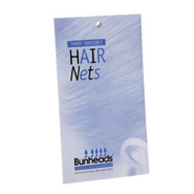 Bunheads/Balletaccessoires BH425 Haarnetjes Rood
