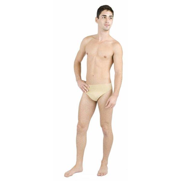 Capezio N26 Self Lined Thong Dancebelt Nude