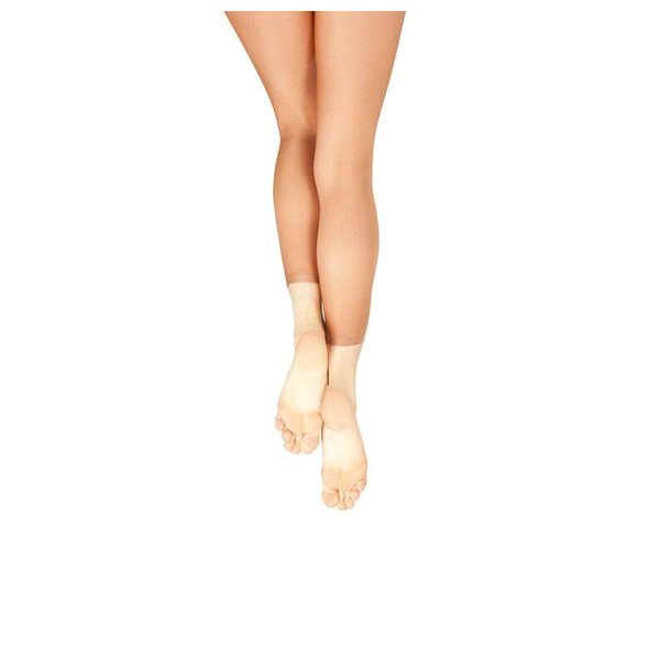 Capezio 1880 Ultra Shimmery Panty zonder voet Light Toast