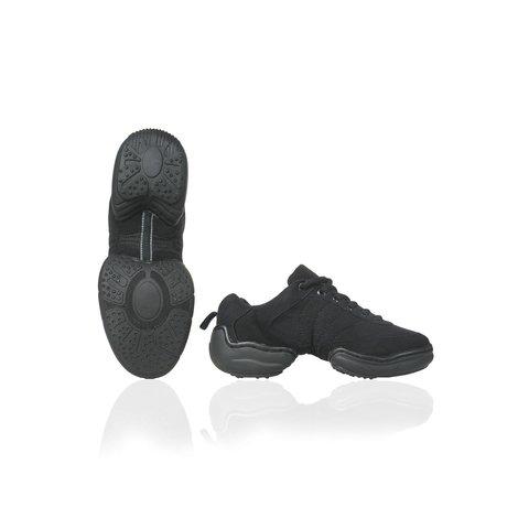PA1513 Lage Dans Sneaker Canvas Zwart