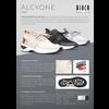 Lage danssneaker -  knit -  Alcyone S0929L -  Zwart