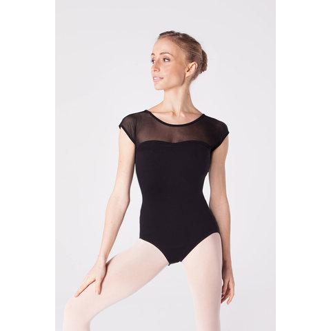31417 Balletpak Met ronde hals en kort mouwtje