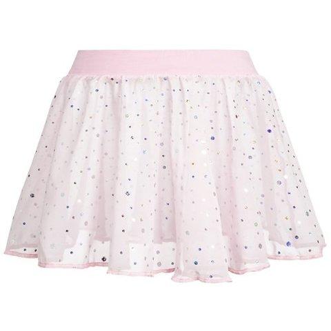 12PK3926 balletrokje glitters Roze