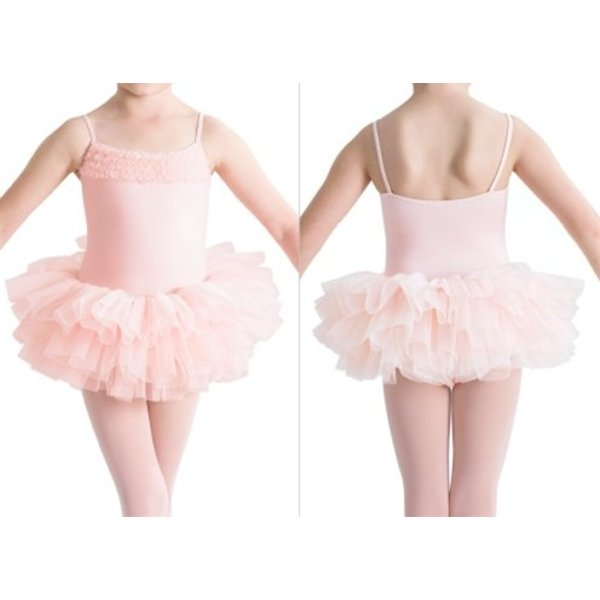 Bloch since 1932 CL7120 Desdemona tutu balletpakje roze / light pink