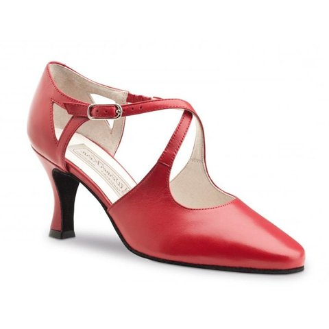 Ines 6.5cm Nappa Red