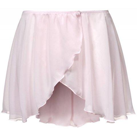 PK3070 Voile Overslag  Balletrokje Roze