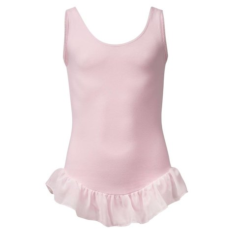 PK4041 balletpakje hemdmodel rokje Roze