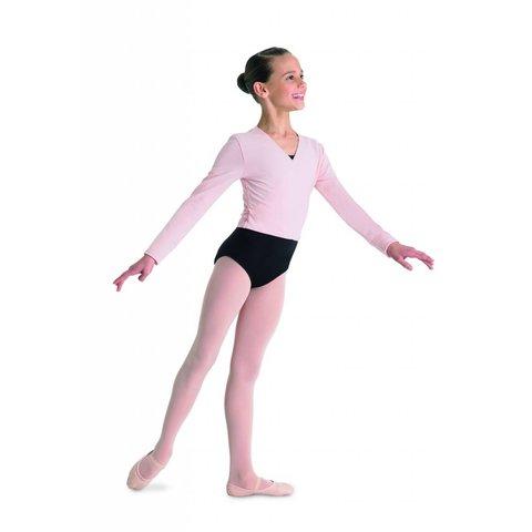 CZ5407 Cambre Ballet Wikkelvestje Lange Mouw