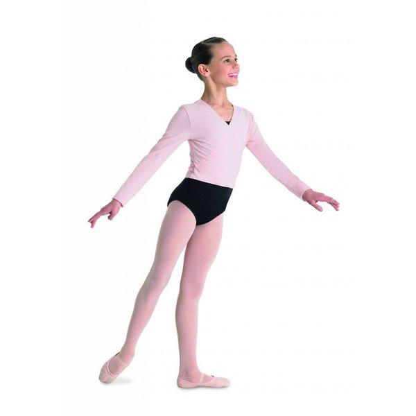 Bloch since 1932 CZ5407 Cambre Ballet Wikkelvestje Lange Mouw