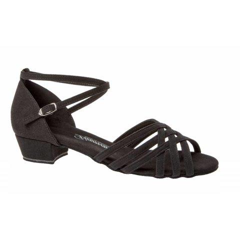 Dansschoenen 008-035-335 Zwart Microfiber 2.8 cm