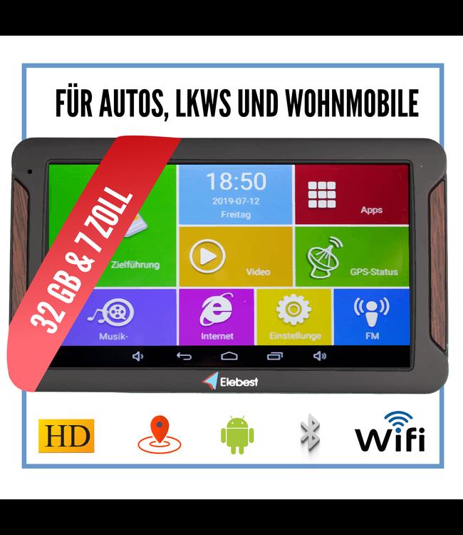 Elebest Pro A600 Android Navigationsgerät mit 7 Zoll Display